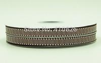 WM ribbon 3/8inch 9mm 140917038 with Glitter Geometric Printed grosgrain ribbon 50yds/roll free shipping