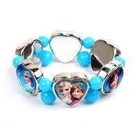 Fashion Frozen Bracelets Princess Elsa & Anna Children Jewelry Girls birthday / Christmas gift HIGH Quality