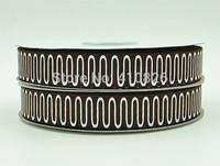 WM ribbon 7/8inch 22mm 140917037 with Glitter Geometric Pattern Printed grosgrain ribbon 50yds/roll free shipping