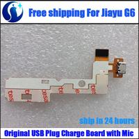 Brand New Original High Quality USB Plug Charge Board + Microphone for Jiayu G6 Smart Phone Free Shipping
