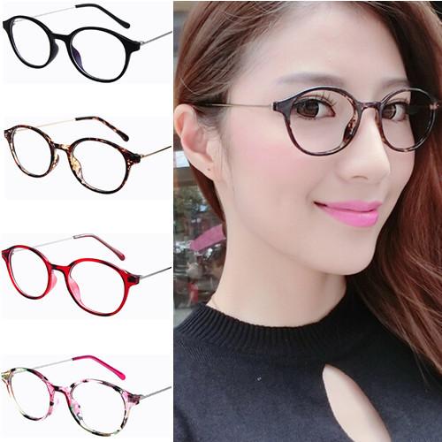 Glasses Frame For Girl : Retro-cintage-thin-metal-temple-round-eyeglasses-frame ...