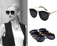 1 Pcs Fashion Luxury Women Sunglasses Arrow Style Eyewear Round Sun Glasses Metal Frame Gafas De Sol Wholesale