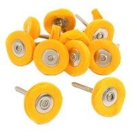 SE - Polishing/Buffing Wheel - Yellow Muslin, 1in., 1/8in