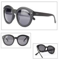 Fashion Women Vintage Round Sunglasses New Eyewear Plastic Frame EyeglassesFree&Drop Shipping
