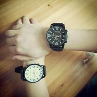 2014 Fashion Brand New 43mm Large dial watch Men and women retro vintage Big Dial quartz watch 9653