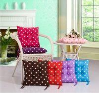 Cute Dots Soft Warm Cushion Office Chair Car Seat Cushion Pad Pillow 40*40cm