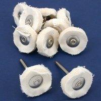 "20 Cotton Polishing Set Fits Dremel Rotary Tools 1"""