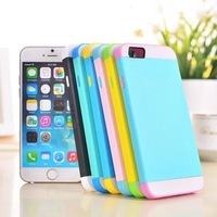 3 In 1 Mobile Phone Case For iPhone 6 Silicon Cover 4.7 inch For iphone 6 4.7 Soft Case