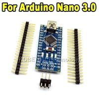 30pcs Nano 3.0 controller Board Card compatible for arduino 3.0 CH340 USB driver NO CABLE NANO V3.0