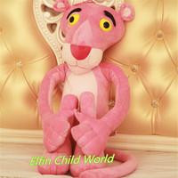 Free Shipping 1pcs 55cm New Arriavl Pink Panther Large Lovely Plush Doll Movie Stuffed Toys Minion Plush Dolls Gifts
