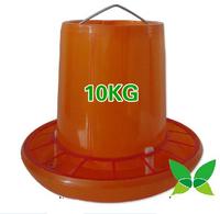 10kg CHICKEN WATERER Feed bucket Chicken manger Fresh chicken plus barrels
