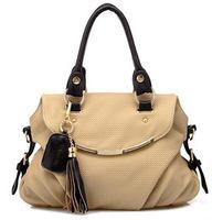 The 2014 fashionable hot tassel bag handbag leisure shoulder bags