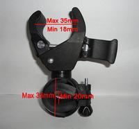 1x Bicycle Bike Cycling Flashlight LED Torch Clip Handlebar Multifunction Holder