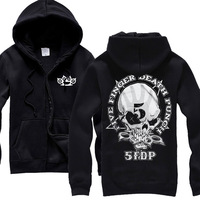 Five Finger Death Punch Hot sell hoodies high quality winter jacket hot brand casual rock shirt items punk death dark metal 02