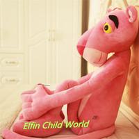 Big Lovely Plush Doll 1pcs 75cm New Arriavl Pink Panther Movie Stuffed Dolls Minion Plush Toys Gifts Free Shipping