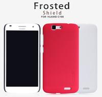 Original Nillkin Case for Huawei C199 Colors Super Plastic Matte Hard Case + Screen Protector Film, Free shipping