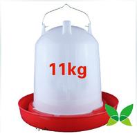 11 kg steel hook handle CHICKEN WATERER Feed bucket Chicken manger Fresh chicken plus barrels  Large
