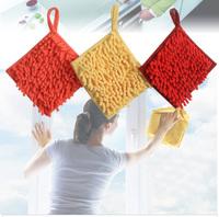 absorbent towel dry  chenille microfiber towel dry towel hanging towel super clean  melamine sponge  kitchen  esponja magica
