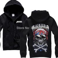 Asking Alexandria Hot sell hoodies high quality winter jacket hot brand casual rock shirt items punk death dark metal 06