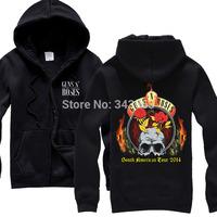 Guns N Roses GNR Hot sell hoodies high quality winter jacket hot brand casual rock shirt items punk death dark metal 05