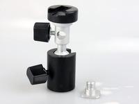 10ps C Type 360 degree Swivel Flash Shoe Umbrella Holder Light Stand Tripod Bracket Adapter For Canon Nikon Camera +tracking