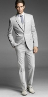 2014 New Custom made Groom suits for mens 3 pieces suits (jacket+Pants+ tie)CM7621
