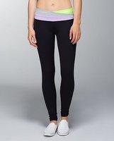 NEW stock Lulu pants for women famous brand lady women's sports yoga wear long skinny tight leg pants trousers Size 2-12
