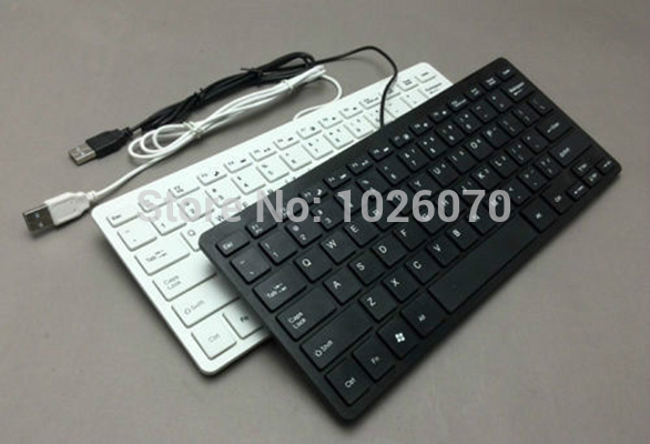 USB Wired Keyboard for APPLE LENOVO SONY ASUS DELL HP ACER TOSHIBA Laptop Desktops PC Computer(China (Mainland))