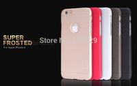 For iPhone 6 (4.7 inch) Original Nillkin Super Shield Frosted Hard Case,Nillkin Shield Forsted case + Screen Film Freeshipping