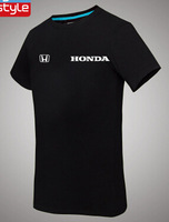 Honda Honda Automobile 4S shops round neck short sleeve T shirt cotton overalls work clothes for men and women clothing