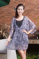 Free shipping China wholesale clothing women summer coat chiffon coat in stock woman brand coat
