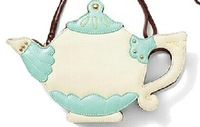 Small fresh teapot styling package, Japanese style Lolita bag, ladies shoulder bag diagonal package,
