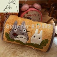 New FREE SHIPPING 36cm Studio Ghibli Movie Cartoon Character My Neighbor Totoro Plush Toy Pillow Hand Warmer For Birthday Gift
