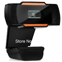New 720p USB 2.0 PC Camera HD Webcam Web Camera with MIC for Computer PC Laptop Skype MSN (Black)