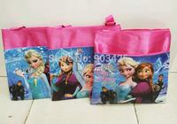 Free Shipping 100 pcs/Lot ! Christmas Gift Fashion Frozen Princes Children Messenger Bag Cartoon School Shoulder Bag G4104
