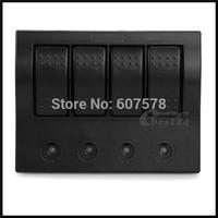 Waterproof Boat Rocker Switch Panel LED Indicator Circuit Breaker
