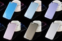 New Ultra thin 0.3mm Transparent TPU Gel Clear Case For iPhone 6 Slim Phone Back Cover for iphone6 (5.5inch) Transparent