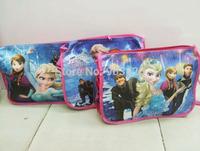 100 pcs/Lot ! Christmas Gift Fashion Frozen Princes Messenger Bag Cartoon Children School Shoulder Bag G4105 Free Shipping
