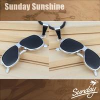 Cool glasses fashion style fashion necklace pendant Titanium steel  glasses necklace