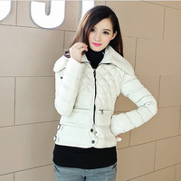 Free shipping new 2014 fall and winter clothes Slim Down thin models cashmere winter coat jacket Women