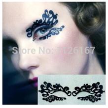 Min order 5 hot sale fashion paper cutting eye stickers eyeliner rayal luxury high quality