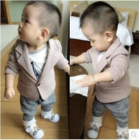 Autumn Children suit jacket male Korean version of the influx of small European and American one to five small colored suit
