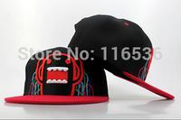 New Style! Free Shipping! The DOMO Snapback Gorras, Classic Cartoon Snapback Hats, Cute Mr DOMO