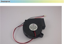 3D printer accessory Ultimaker DIY Electronics Cooling Fan 12 V DC 0.18A 7525 turbofan top quality free shipping
