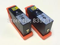 2 PK 150XL Black Ink Cartridge Set For Lexmark 150 XL Pro715 Pro915 Ink No.63