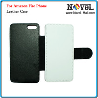Free Shipping Sublimation Leather Phone Case for Amazon Fire Phone