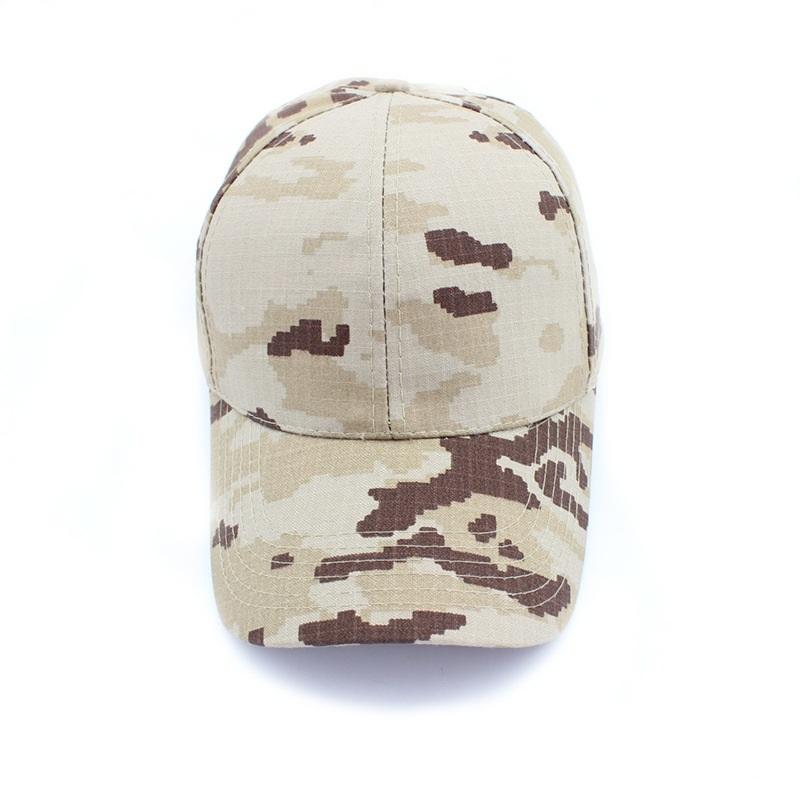 Training Hat Summer Camp Sun-proof Camouflage Color BaseballCap Men WomenShading Hunting Cap(China (Mainland))