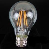Led Lamp E27 220V 6W Filament Led Bulb E27 360 Degree 660Lm White Warm White Energy Saving Light Wholesale free shipping