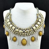 New Arrivals Fashion Luxury Crystal Choker Statement Necklaces & Pendants Unique Campanula Pendants Women Jewelry Gift