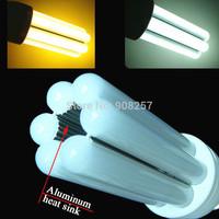 FREE SHIPPING 2PCS E14 12w 120 LED 3014 SMD light Corn Bulb 95~265V 960lm non flicker Warm White